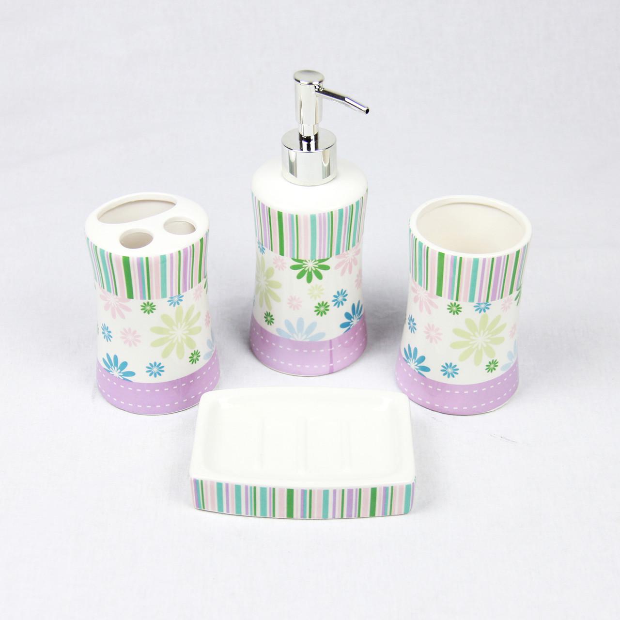 """Керамический набор для ванной комнаты """"Кроус"""" GL5034"""