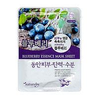 Маска-эссенция для лица Blueberry Essence Mask Sheet