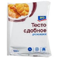 ARO ТЕСТО CДОБНОЕ ДРОЖЖЕВОЕ 500Г