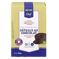 Шоколадное Пирожное Metro Chef 2шт х 100г