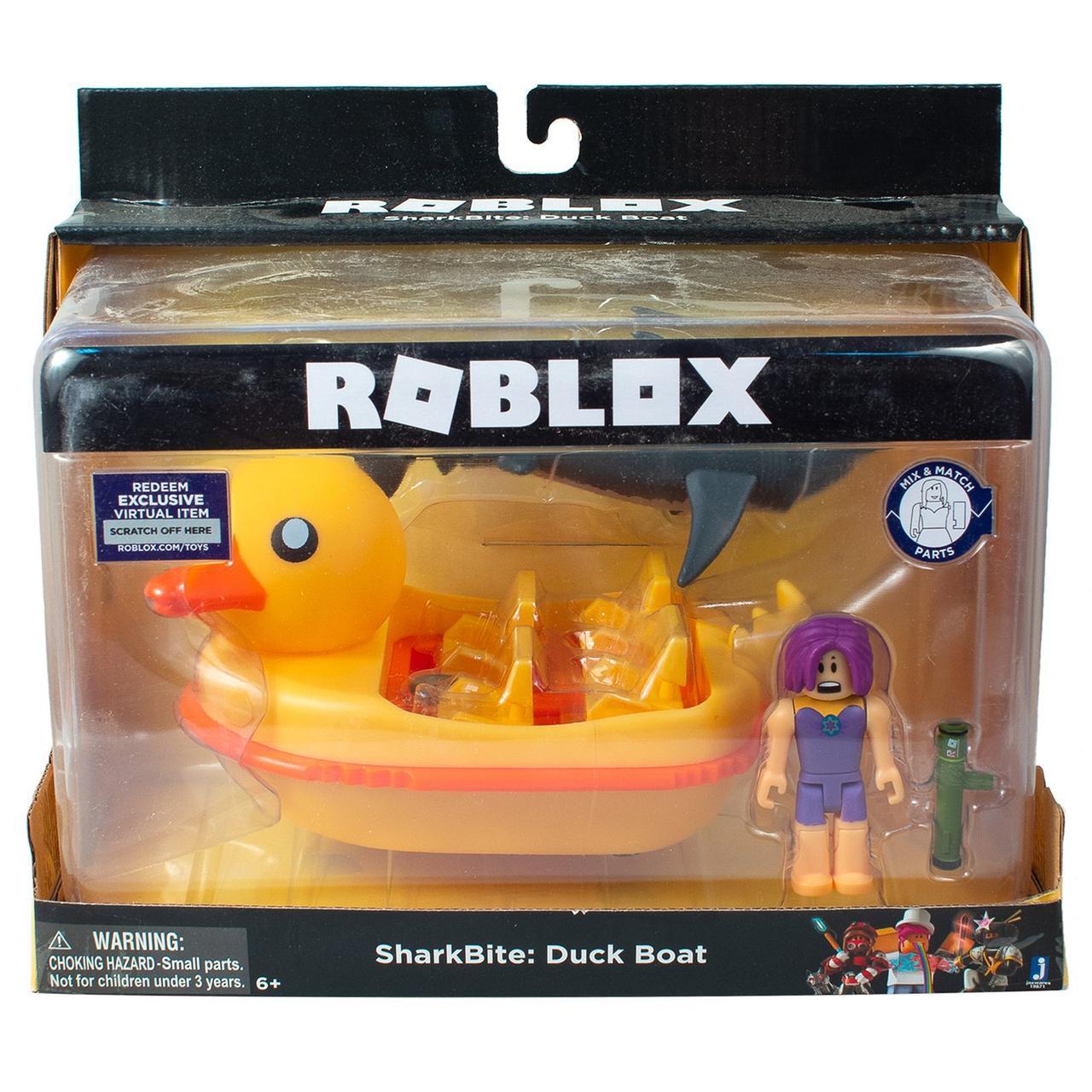 """Roblox 19871 Игровой набор Роблокс специальный транспорт """"Укус акулы: Утиная лодка"""""""