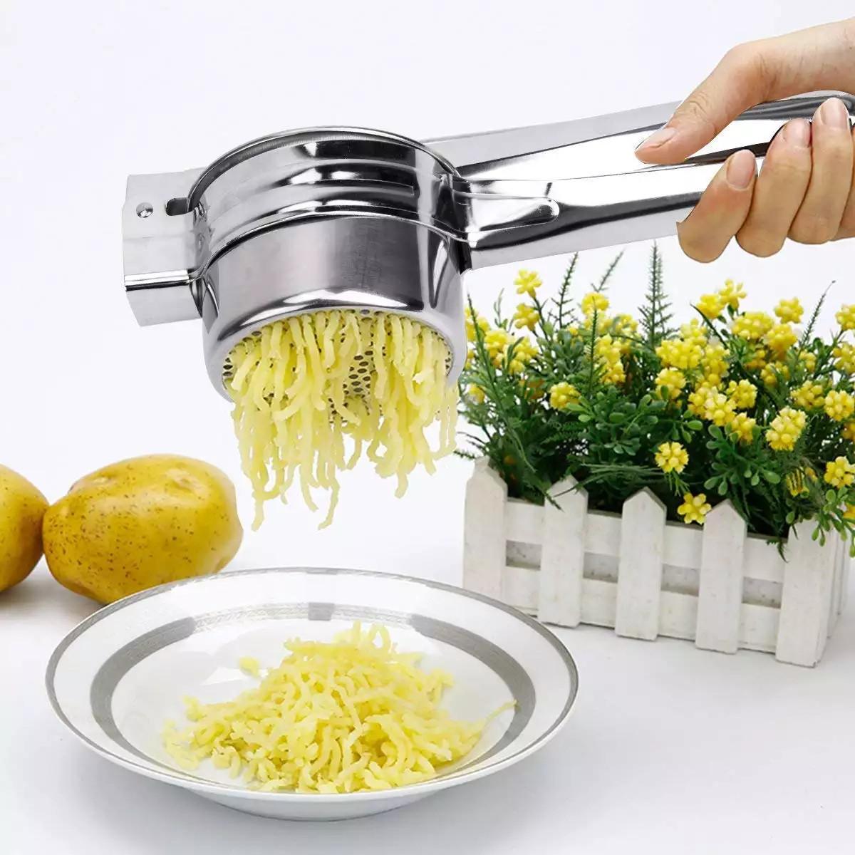 Картофельный пресс для приготовления пюре