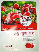 Тканевая маска Natureby Tomato Essence Mask Sheet