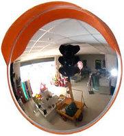 Зеркало выпуклое для помещений D 80 см, Атырау