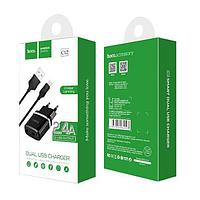 Сетевое зарядное устройство HOCO C12 Dual USB Charger