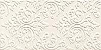 Декор настенный Delice white STR 44,8 x 22,3