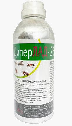 Средство от насекомых ЦиперЛАД-25 1л (циперметрин 25%), фото 2