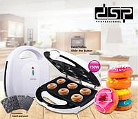 Аппарат для изготовления пончиков DSP KC 1131 печенье ,вафли ,бисквит, орешки 4 в 1
