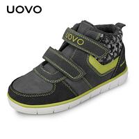 Зимние ботинки для девочек Uovo Серый, 28