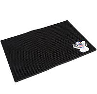 Резиновый антискользящий коврик для барбера, фото 1