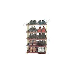 Полка пластмассовая для обуви «Виолет»