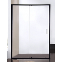 BD120.4101B Душевая дверь BRAVAT BLACK LINE 1200x2000 Стекло 6мм easy clean