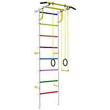 Детский спортивный комплекс «Роки-Ленд» с цветными ступенями