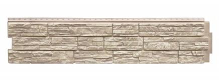 Фасадная панель Жемчужный 306x1487 мм GL (Я-Фасад) Сланец