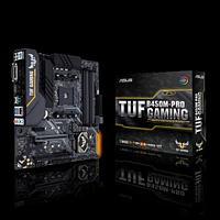Материнская плата ASUS TUF B450M-PRO GAMING AM4 4xDDR4 6xSATA3 2xM.2 1xDVI-D 1xHDMI mATX