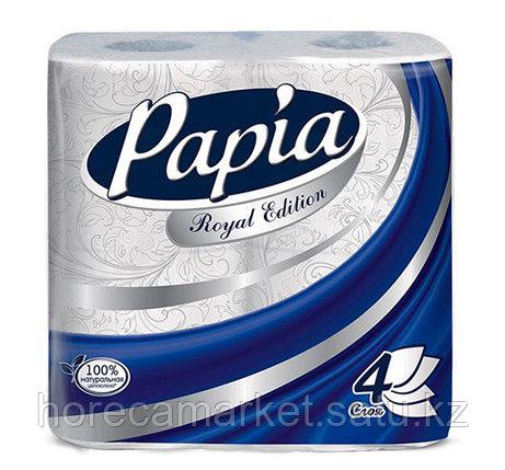 Туалетная бумага Papia Royal Edition 4сл 4рул х 12пач., фото 2