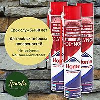 Утеплитель: Напыляемый полиуретановый утеплитель POLYNOR HOME бытовой 750 мл