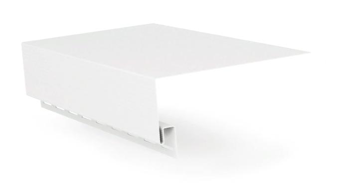 Планка приоконная широкая ЯФАСАД 3,0х0,22  Белый Grand Line