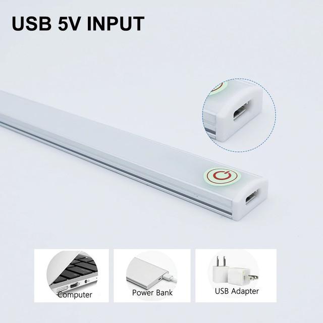USB светильник сенсорный диммируемый