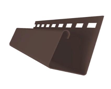 Профиль J универсальный 3,00  ЯФАСАД Темный дуб Grand Line