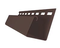 Профиль J универсальный 3,00 Grand Line ЯФАСАД Темный дуб