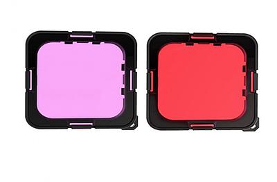 Подводные фильтры TELESIN для GoPro HERO 8 Black