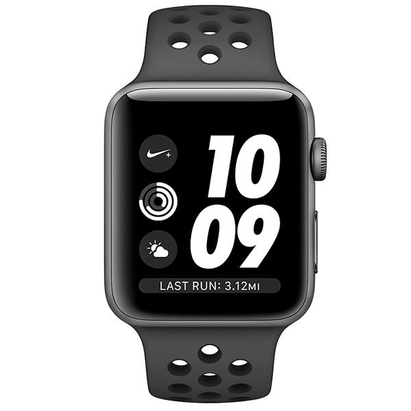 Смарт-часы Apple Watch Nike+ Series 3 GPS 38mm MTF12GK/A (Space Grey)