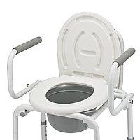 """Кресло-туалет FS 813 """"Armed"""" (с санитарным оснащением)"""