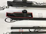 Рейлинги с поперечинами (черный муар) Лада 4х4, фото 3