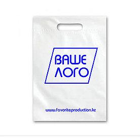 Пакет с логотипом, в 1 цвет