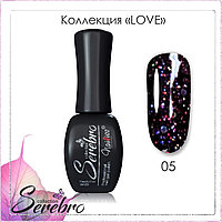 "Гель-лак LOVE ""Serebro collection"" №05, 11 мл"