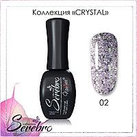 "Гель-лак ""Serebro collection"" Crystal №02, 11 мл"