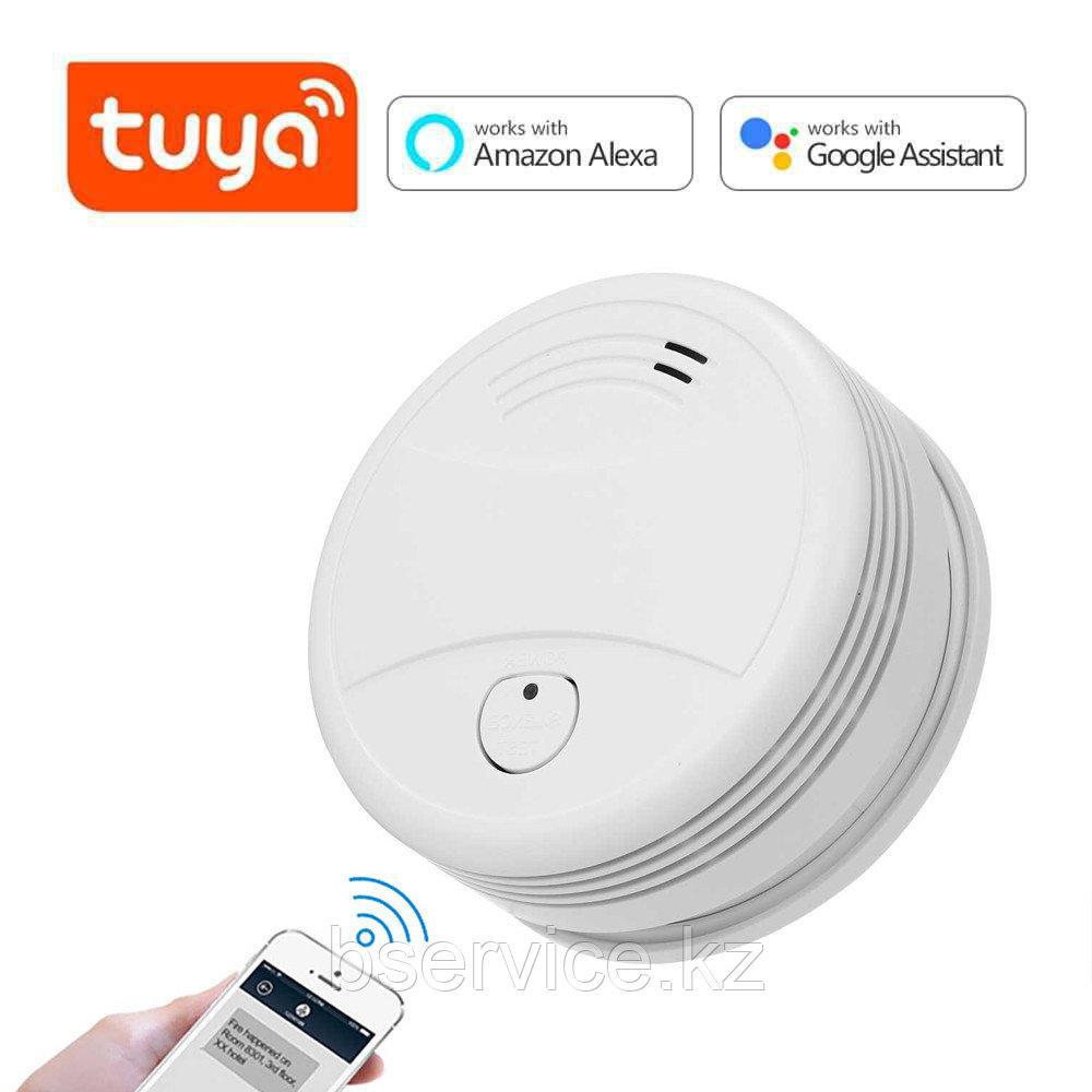 WI-FI датчик дыма автономный TUYA