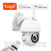 WI-FI уличная PTZ камера видеонаблюдения TUYA