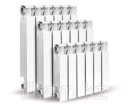 Радиатор отопления алюминиевый TIPIDO-450/1 (высота секции 490 мм.), фото 2