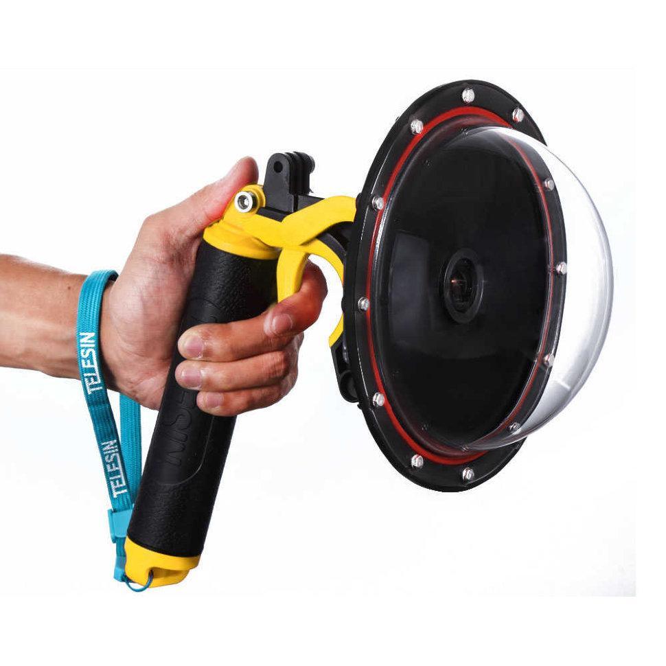 """Dome Port TELESIN для GoPro HERO 8 Black - купол для съемок в воде 6"""" (15,24 см)"""