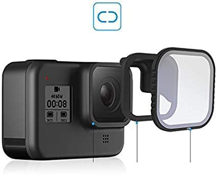 Поляризационный(CPL) фильтр TELESIN для GoPro HERO 8 Black