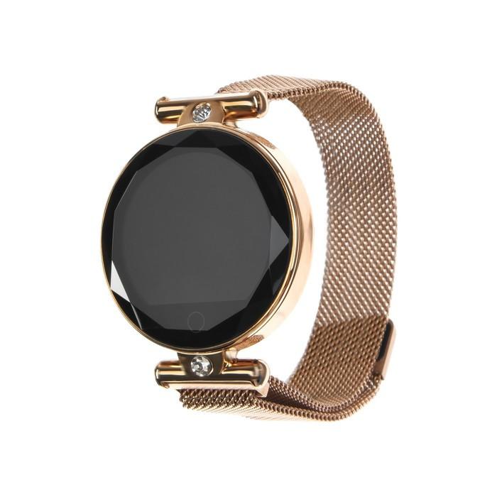 """Смарт-часы Smarterra SmartLife VEGA, 1.08"""", IPS, IP67, Bt4.0, 140мАч, золотистый"""