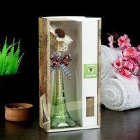 Набор подарочный'Эйфелева башня'(ваза,2 палочки с шариками,декор,аромамасло 30 мл), сандал