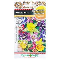 Семена цветов Аквилегия серия Русский размер F1 смесь, Мн, 5 шт (комплект из 10 шт.)