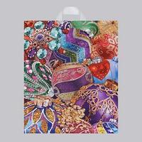 Пакет ' Изобилие шаров', полиэтиленовый с петлевой ручкой, 38х47 см, 60 мкм (комплект из 25 шт.)