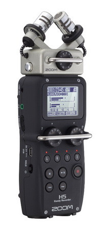 Портативный аудио рекордер, ZOOM H5 - фото 1