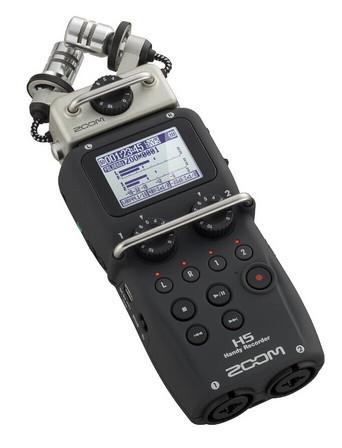 Портативный аудио рекордер, ZOOM H5 - фото 3