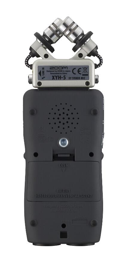 Портативный аудио рекордер, ZOOM H5 - фото 7