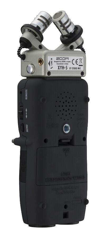 Портативный аудио рекордер, ZOOM H5 - фото 6