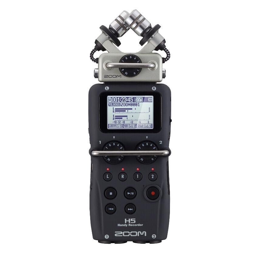 Портативный аудио рекордер, ZOOM H5 - фото 8