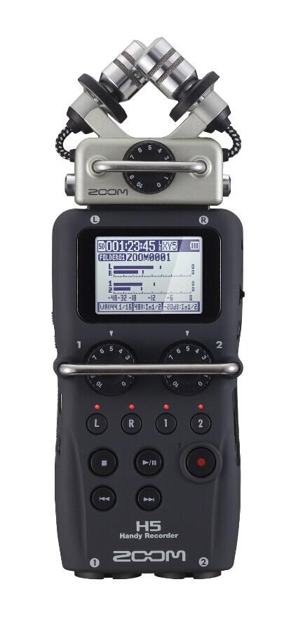 Портативный аудио рекордер, ZOOM H5 - фото 9