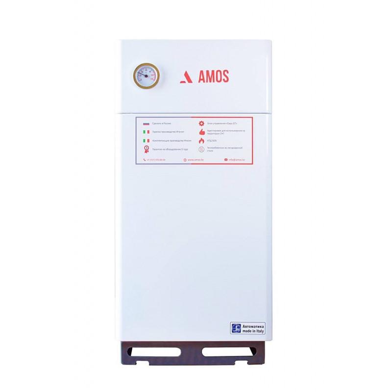 Напольный газовый одноконтурный котел Amos КС-Г-8К