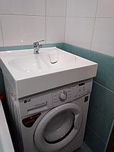 Раковина над стиральной машиной Жасмин 52