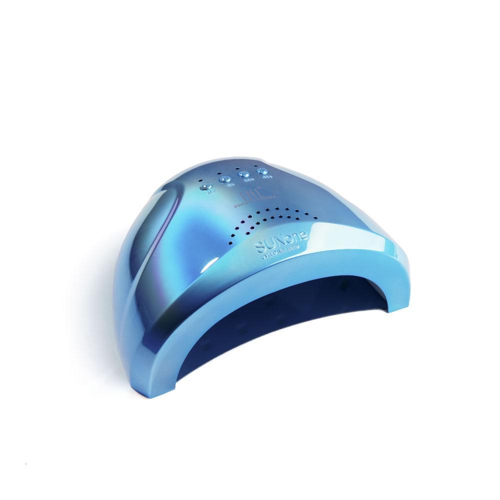 "UV LED-лампа TNL 48 W - ""Shiny"" перламутрово-голубая"